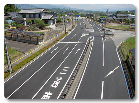 国道151号 飯田市 松尾~川路